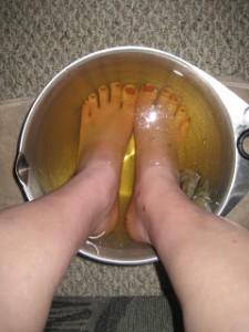 feet soak
