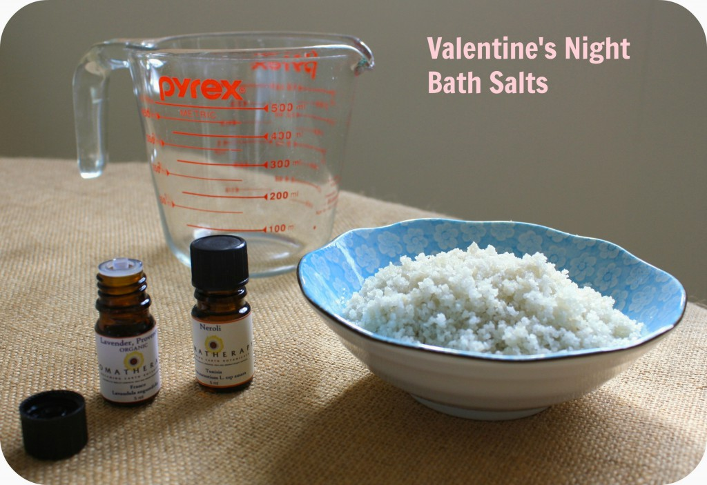 Bath Salt & oils with text