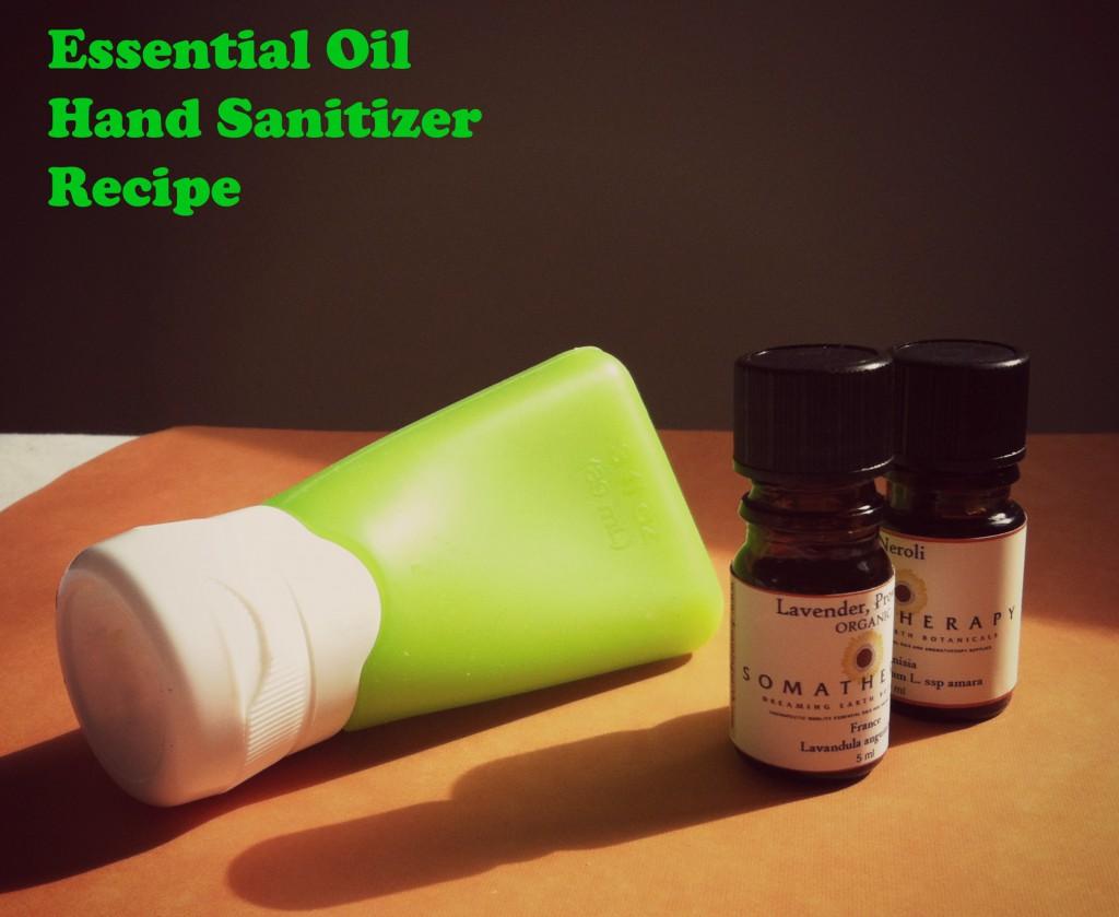 essential oils hand sanitizer