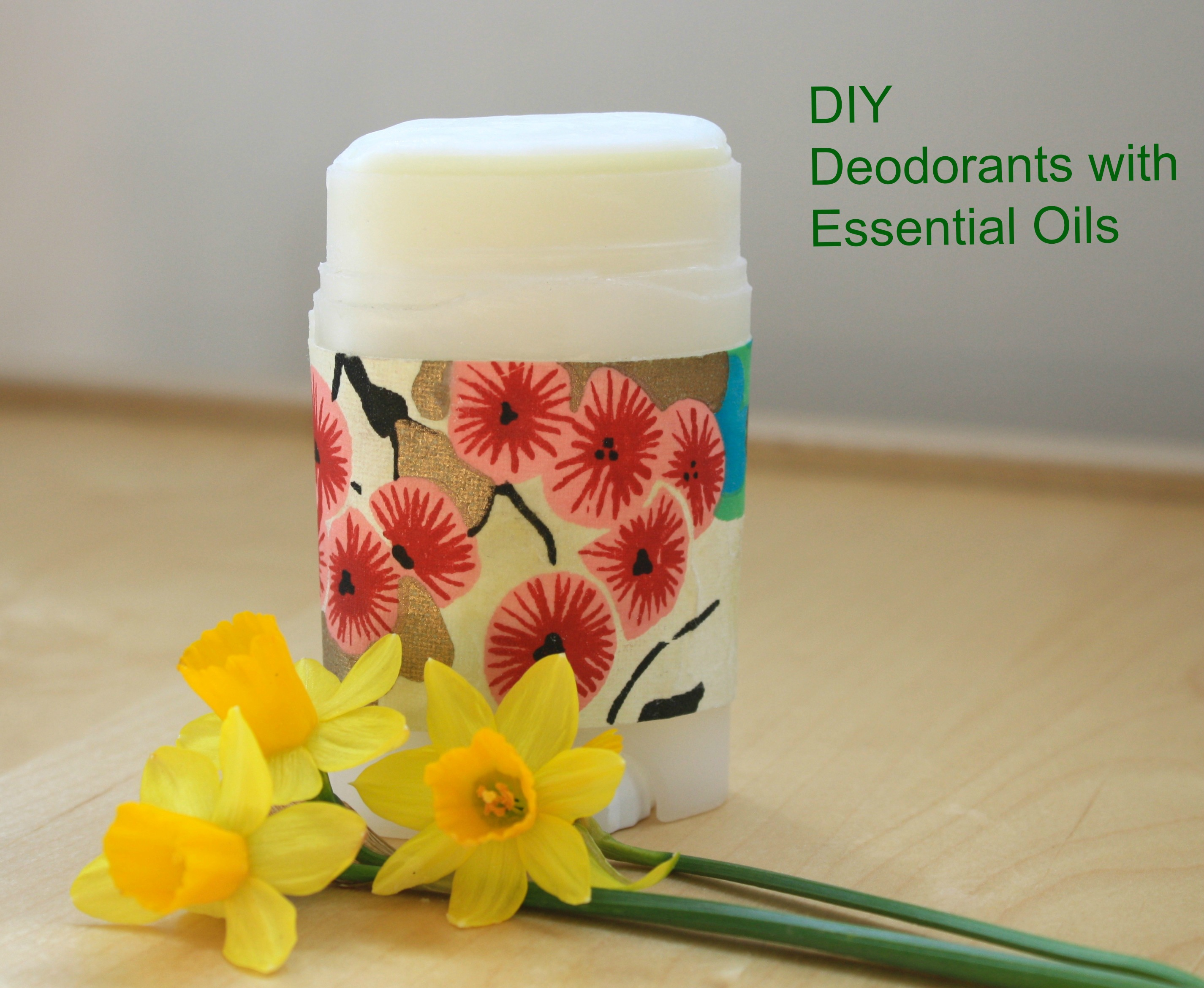 6 DIY Essential Oil Deodorant Recipes