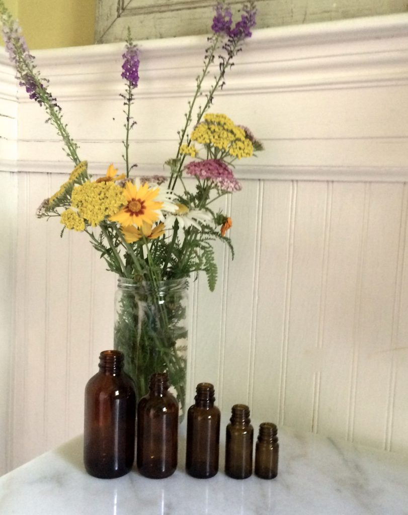 glass aromatherapy bottles